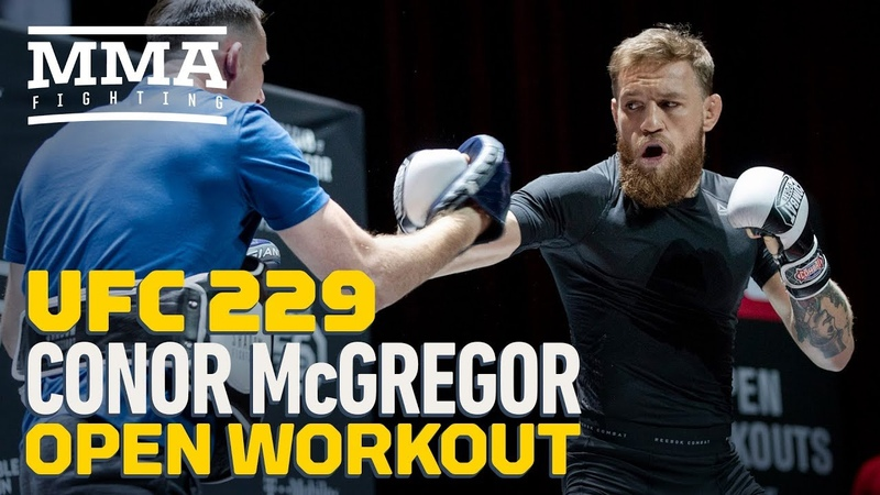 Conor McGregor UFC 229 Open Workout (Complete) - MMA Fighting