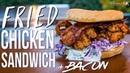The Best Fried Chicken Sandwich | SAM THE COOKING GUY 4K