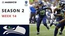 Madden 19 | UFL | SE02WE14 vs Dallas Cowboys
