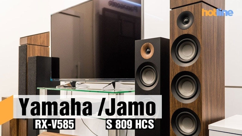 Yamaha RX-V585 и Jamo S 807S 809 — строим домашний кинотеатр