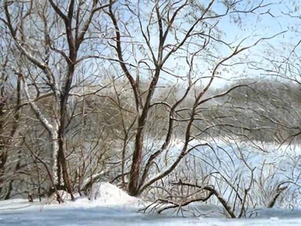 Картины зимы русских художников httpakmayablog livejournal com14