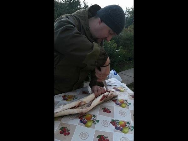 Видео отзыв клиента о ноже Рыбак из порошковой стали Elmax от компании Гепард г.Ворсма