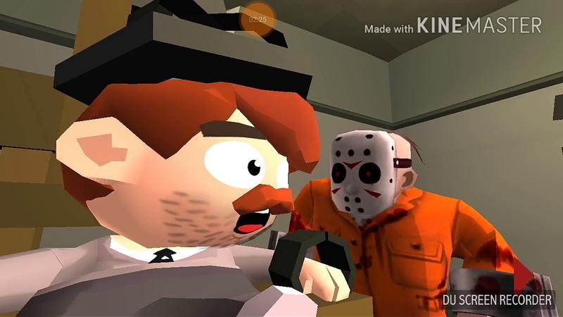 Friday the 13th особо опасный Джейсон 2 этам заточение