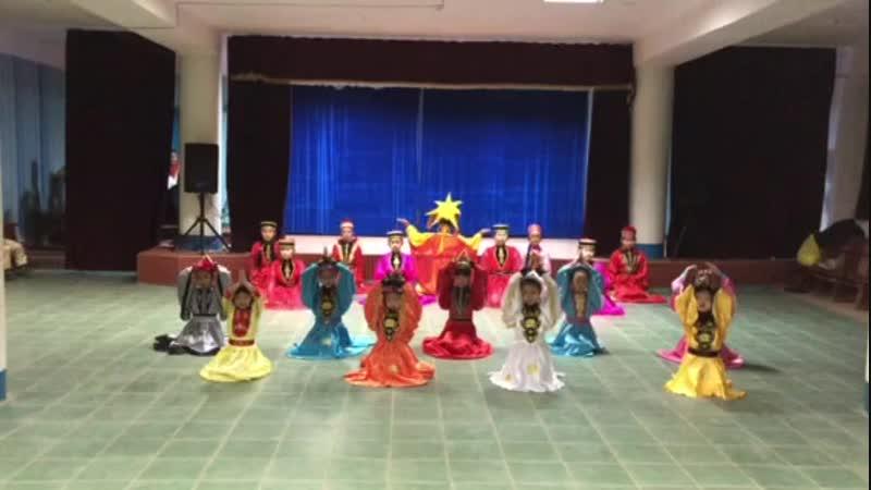 Пробуждение степи танцгруппа СКАЗКА Хореограф Сариева Айса