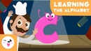 The letter C - Educational video to learn the consonants - Phonics For Kids