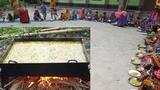 Vegetables, Spinach &amp Broken Rice Hodgepodge Cooking For Village Kids - Tasty Khud Khichuri Cooking