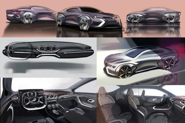 Дизайнеры показали, как будут выглядеть автомобили Lada в будущем