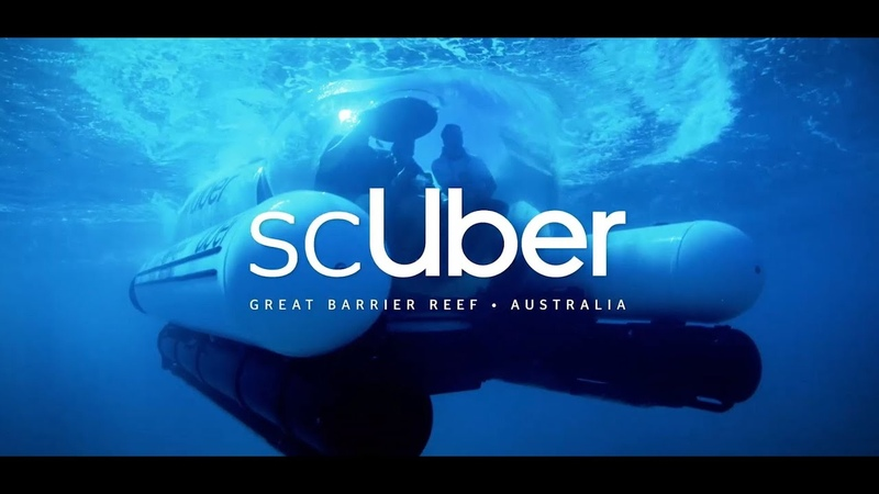 Meet scUber The Worlds First Rideshare Submarine on the Great Barrier Reef