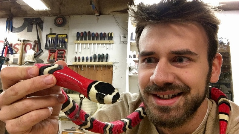Making a 100 Piece Snake Lure for 100,000 Subscribers!