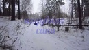 Надувные сани Кама , покатушки в парке им. Кирова