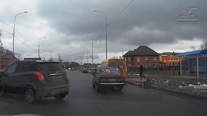 Подборка аварий совершённых торопыгами и кому за руль лучше не садиться