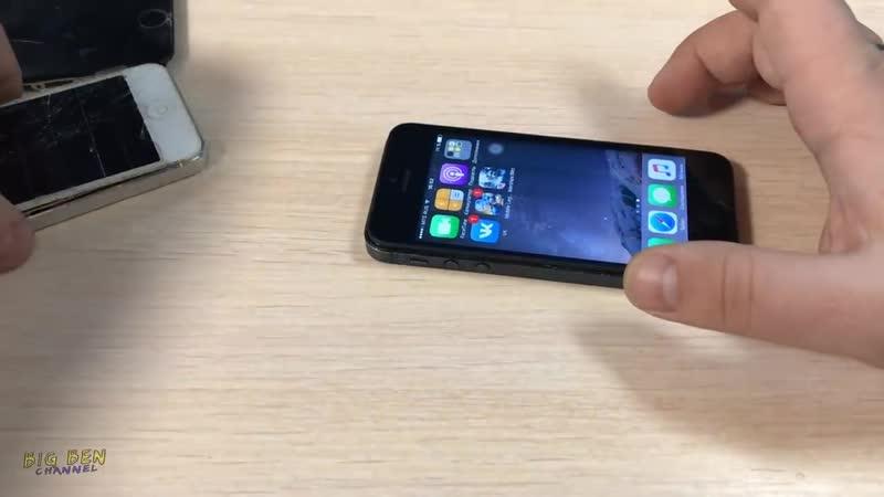 [BIG BEN_87] ✅Рабочий iPhone 5 на Avito за 200 рублей! Собираем конструктор ))