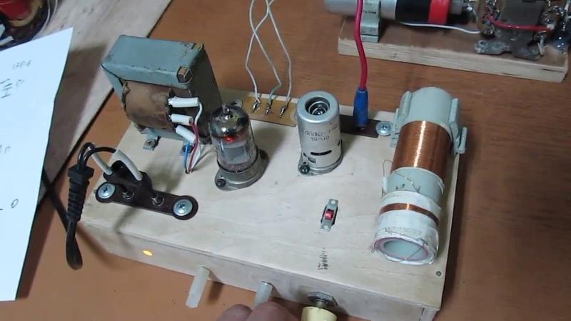 Самодельный ламповый приемник, изменения в схеме