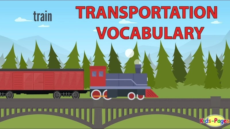 Transportation Vocabulary and Vehicle Names