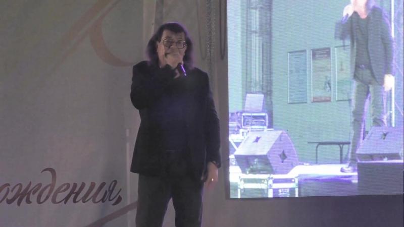 Выступление Игоря Корнелюка на Дне рождения пос. Металлострой 15.09.2018.