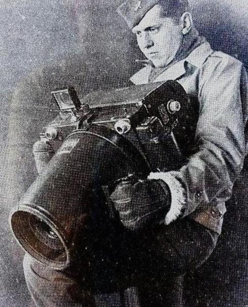 Камера oda -24, используемая для аэрофотосъемки во время Второй мировой войны американцами