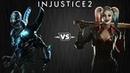 Injustice 2 - Синий Жук против Харли Квинн - Intros Clashes rus