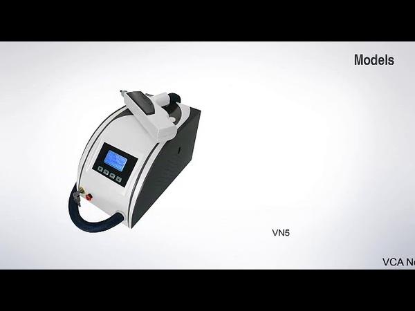 Неодимовый лазер для удаления татуировок и карбонового пилинга.
