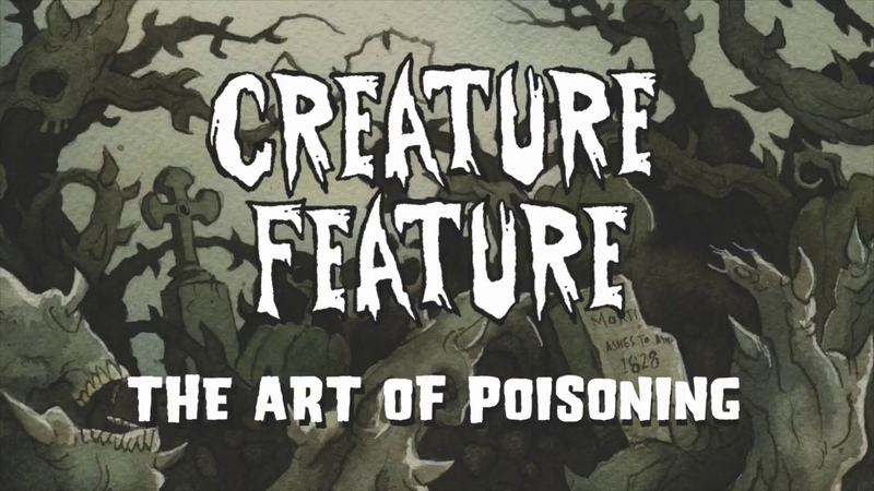 Creature Feature - The Art Of Poisoning (Official Lyrics Video)
