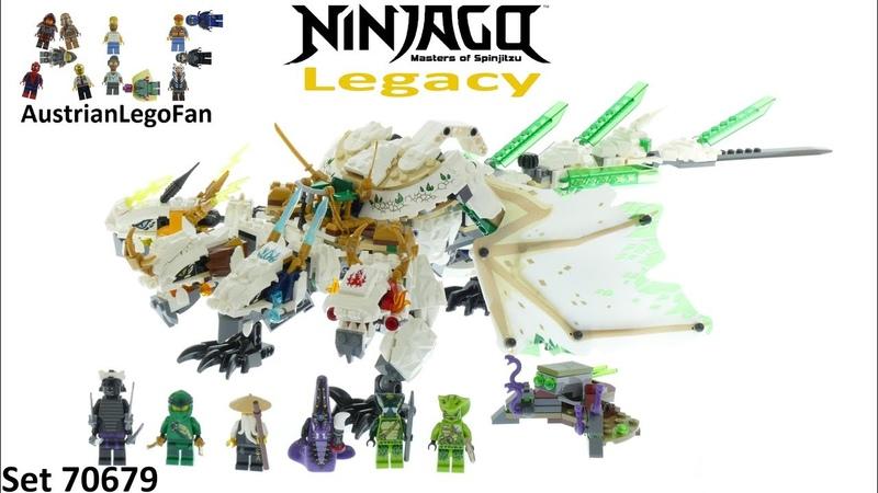 Lego Ninjago Legacy 70679 The Ultra Dragon - Lego 70679 Speed Build