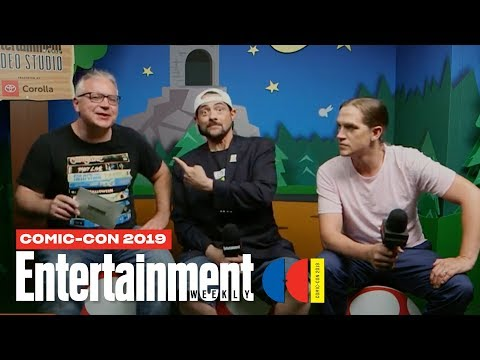 'Jay and Silent Bob Reboot' Stars Kevin Smith Jason Mewes LIVE | SDCC 2019 | Entertainment Weekly