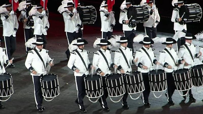 BASEL TATTOO 2016 - TOP SECRET Drum Corps (2)