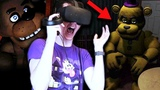 BUILDING FREDBEAR AND EXPLORING THE PIZZERIA! || Five Nights at Freddy's VR
