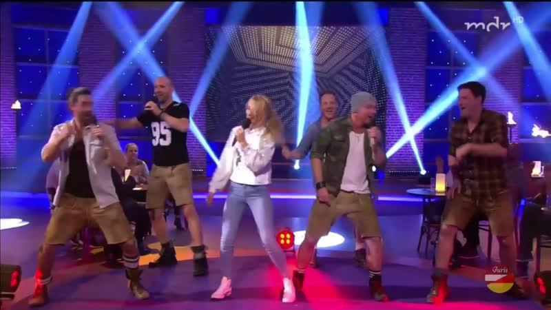 VoXXclub und Christin Stark «Rock Mi» (Letzte Chance in Leipzig 19.10.2018)