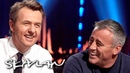Sleep naked or in PJs? MattLeBlanc answers dilemmas! | SVT/NRK/Skavlan