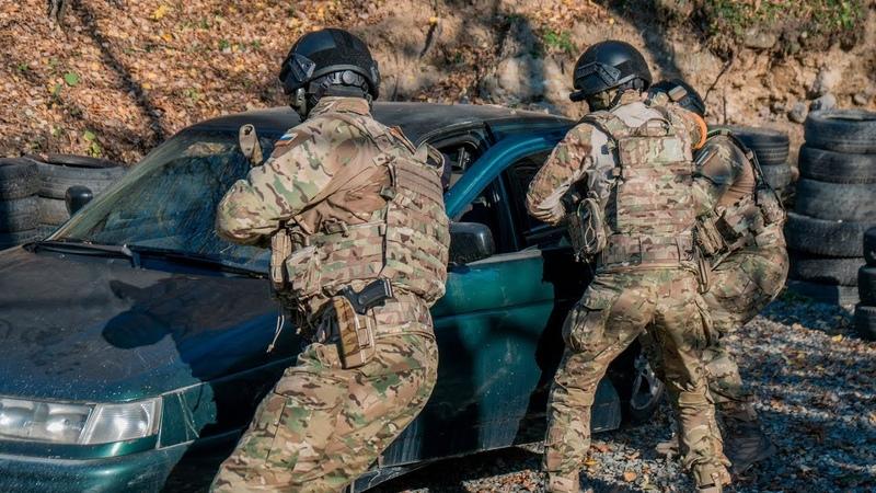 HARD BLOG тренировка спецназа