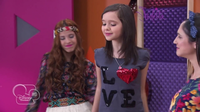 """Violetta saison 2 - """"En mi mundo"""" (épisode 32, version italienne) - Exclusivité Disney Channel"""