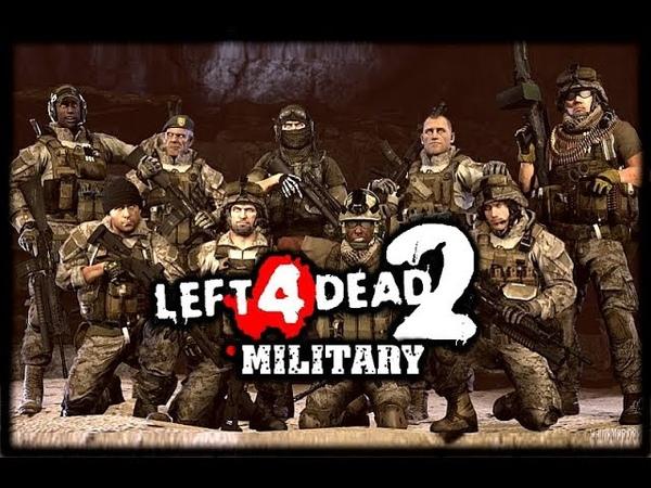 Left 4 Dead 2 PC Military style mod gameplay Мод под военную стилистику