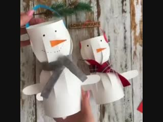Забавный снеговик ⛄