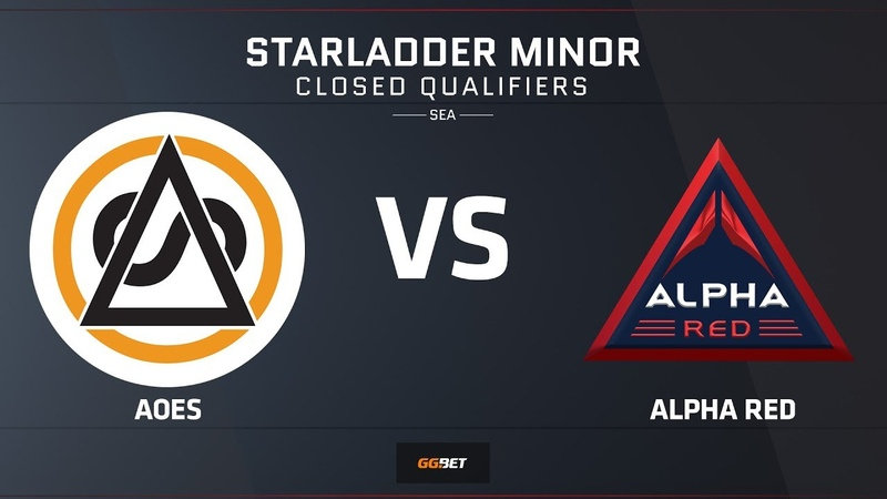 AOES vs Alpha Red | Map 2 – Train | Asia Minor SEA Closed Qualifier – StarLadder Major 2019