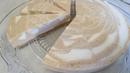 Торт КРЕМ БРЮЛЕ МРАМОРНЫЙ. Без Выпечки. Простой Рецепт. Cake Creme Brulee Recipe.