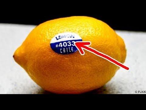 Я был в ШОКЕ!! Когда понял смысл наклейки на фруктах!