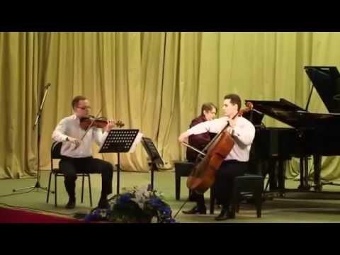 Р. Шуман. Пьесы-фантазии для фортепианного трио, op 88. 1-я часть, Romanze.