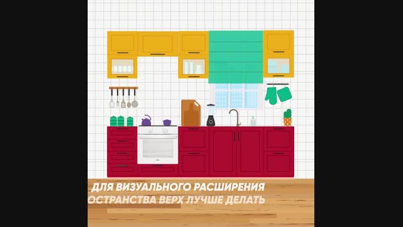 Новый тренд в дизайне кухонь двухцветные кухонные фасады