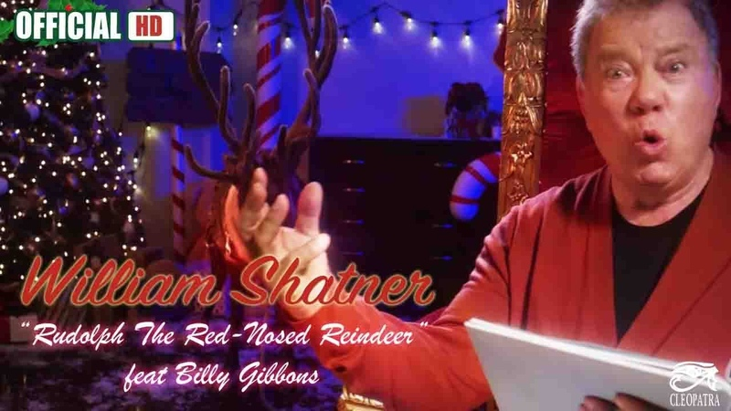 William Shatner - Rudolph The Red-Nosed Reindeer feat. Billy Gibbons (Official)