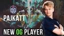 OG.Pajkatt NEW Carry Player for ana in TI8 Winner Team OG - Dota 2
