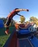 Junktramp on Instagram Flips by @ @robbydee3 @bdavis1260 trampoline trampwall junktramp flips frontflip realorfake insta360 i