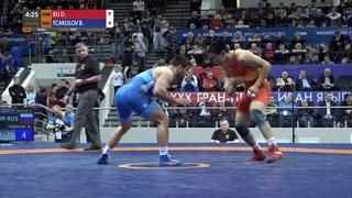Round 3 FS - 92 kg: D. XU (CHN) v. B. TCAKULOV (RUS)