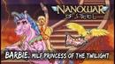 Nanowar Of Steel - Barbie MILF Princess Of The Twilight Lyrics Video feat. Fabio Lione