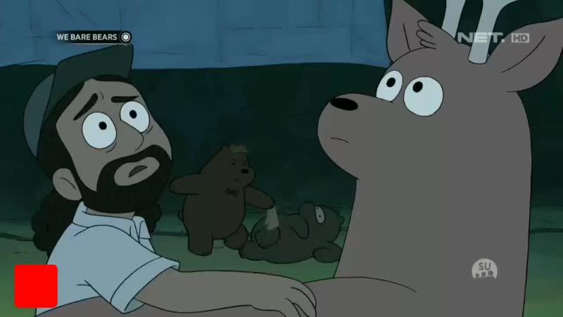 We Bare Bears - 《Adegan akting Crowbar Jones》 [Bahasa Indonesia]