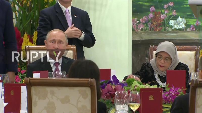 Singapore Putin and President Yacob praise Russian Singaporean relations