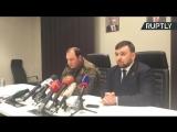 Пресс-конференция по итогам срочного заседания правительства ДНР в связи с убийством Захарченко