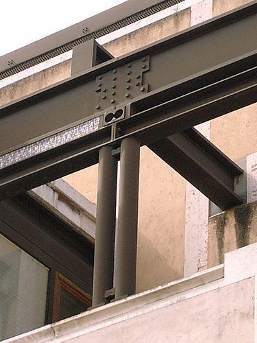 Узлы металлических конструкций