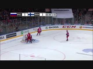 Шведские хоккейные игры. Россия - Финляндия