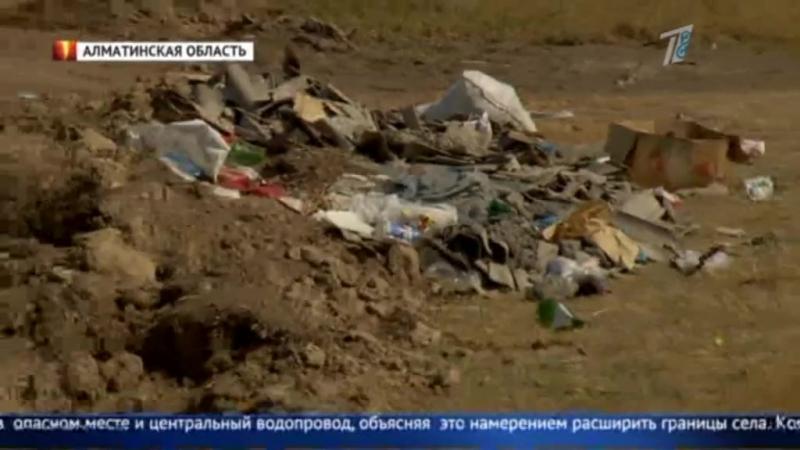 Школу хотят построить на месте скотомогильника в Алматинской области