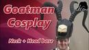 Goatman Cosplay Neck Support Blizzcon 2018 khazraplay